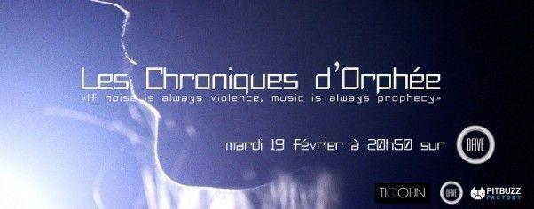 Les Chroniques d'Orphée sur O Five TV