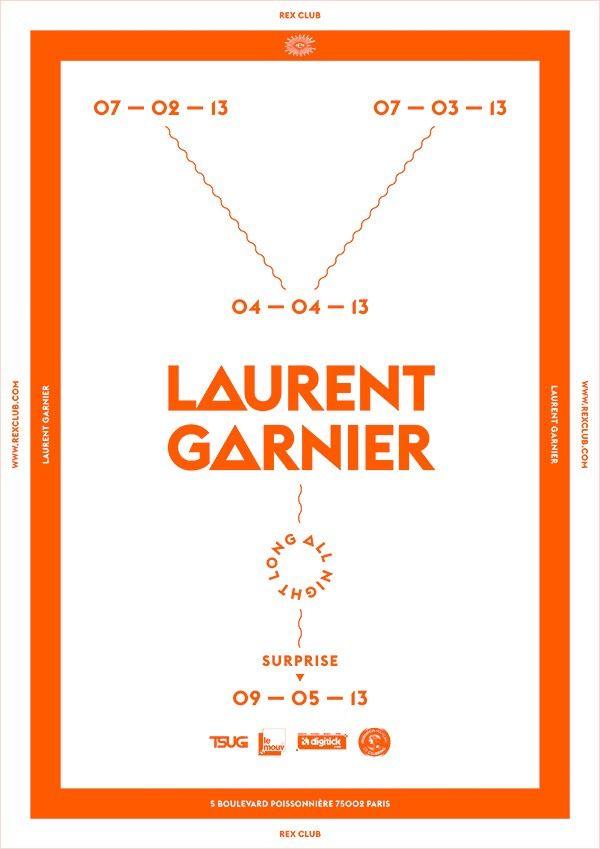LaurentGarnier 25ans Rex Club