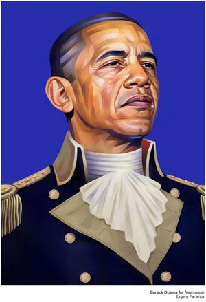 Barack Obama by Evgeny Partenov