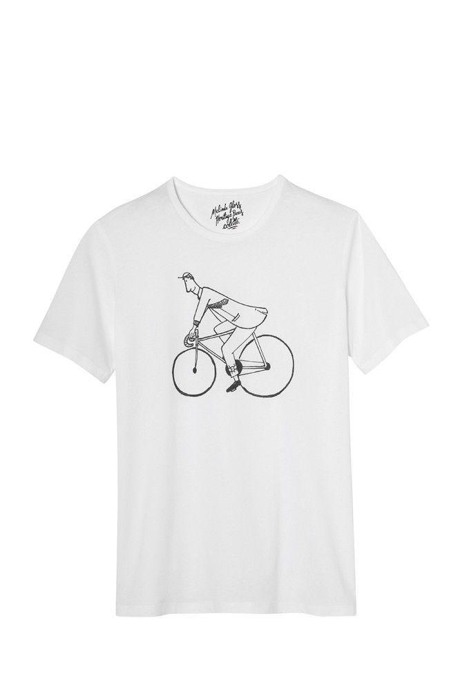 t shirt colette vélo