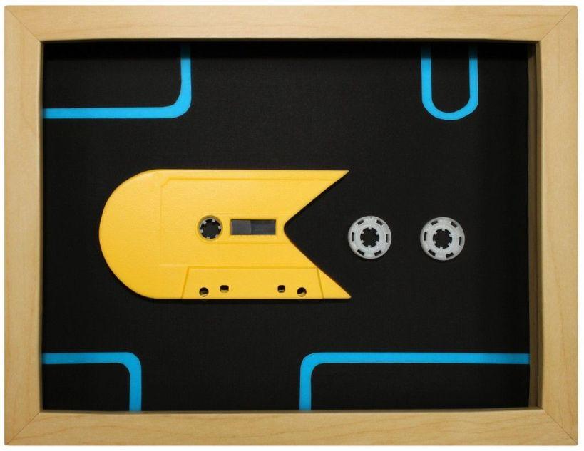 cassette audio art