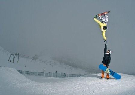 snowboard timing parfait
