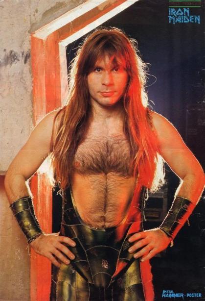 Un des membres des Iron Maiden