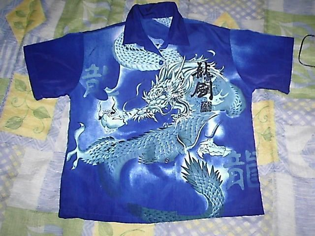 chemise dragon