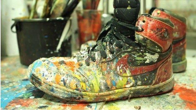 dave white sneaker