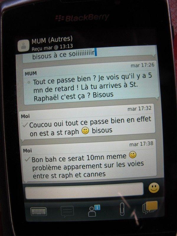 SNCF SMS 17h26