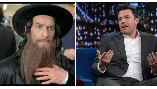 Rabbi Jacob - Ben affleck - Louis de Funes