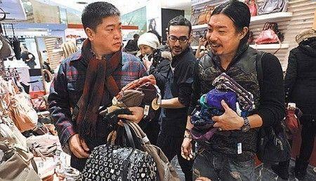 Touriste chinois les galeries lafayette