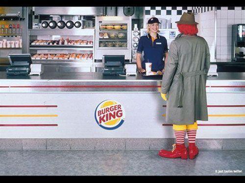 Burger king Mc do