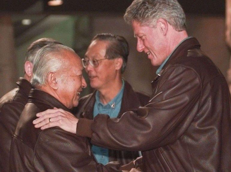 bill clinton APEC