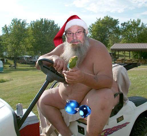 Père Noël jardinier
