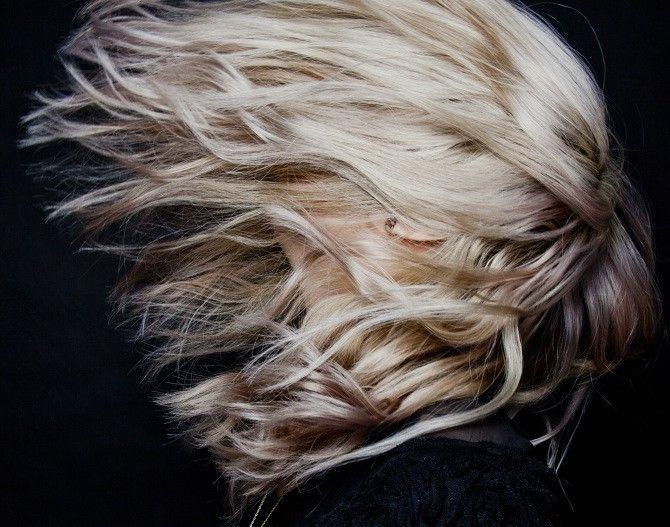 Cheveux au veeent