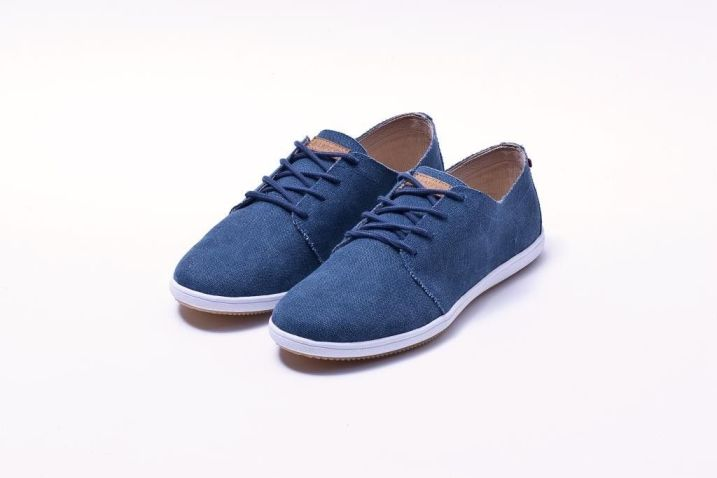 DERBY NAVY WASHED CANVAS L