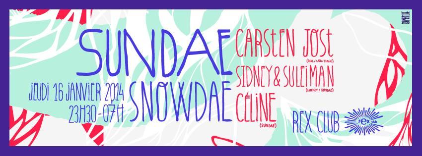 sundae snowdae carsten jost