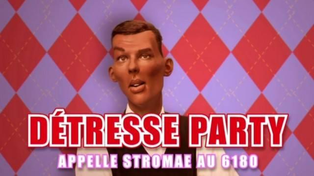 Stromae détresse party