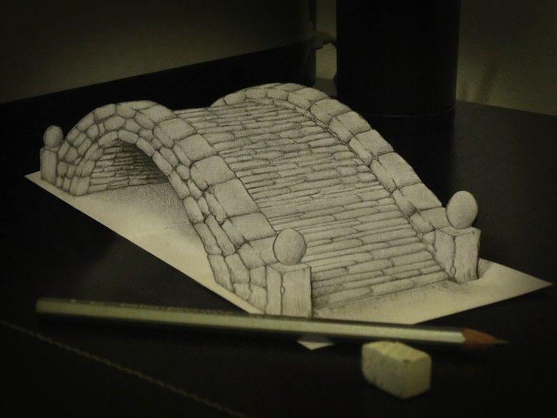 Alessandro Diddi 3D Drawing art