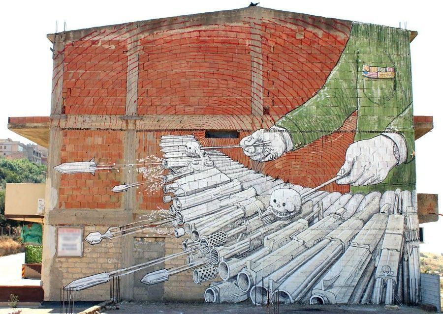 art immeuble peinture