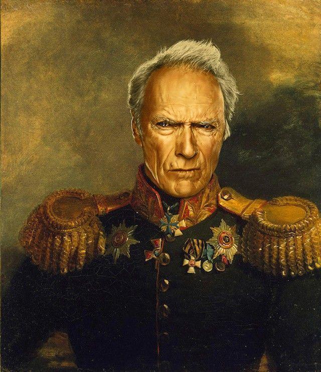 Clint Eastwood néo-classicisme peinture
