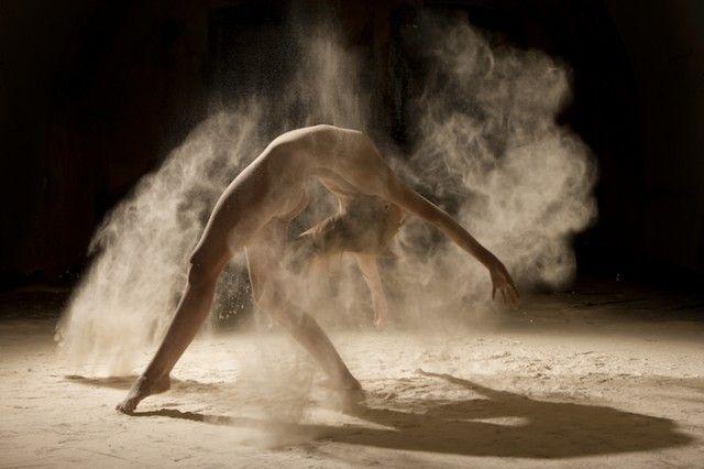 Danseur poussière