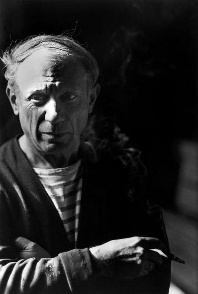 Pablo Picasso Robert Capa