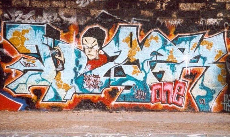 graffiti dize 2001