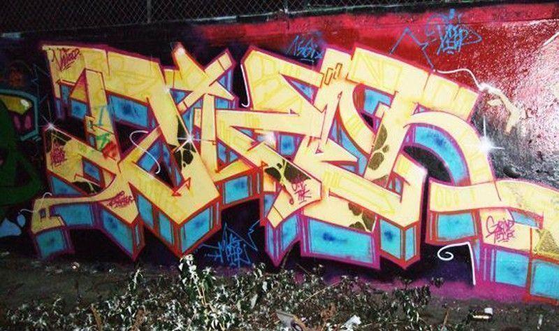 graffiti dize 2007 Clichy