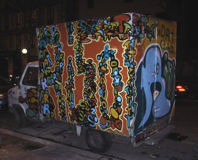 graffiti rizote 2008 Camion