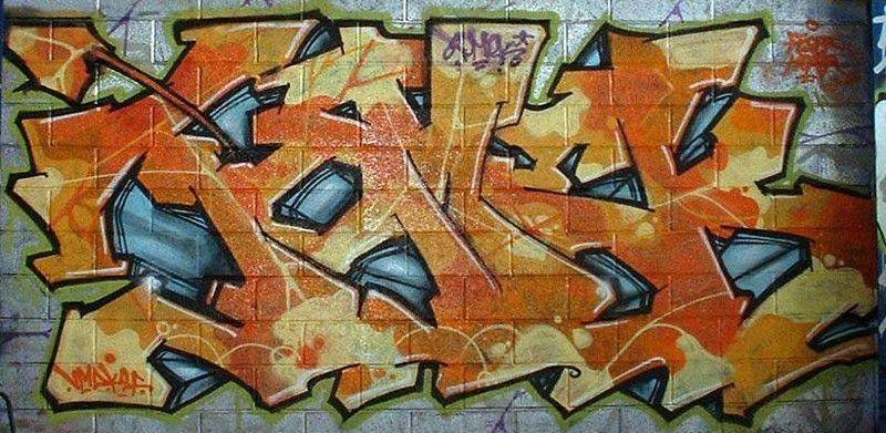 graffiti tomek 2006 Rhone Poulenc