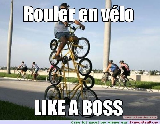 like a boss vélo
