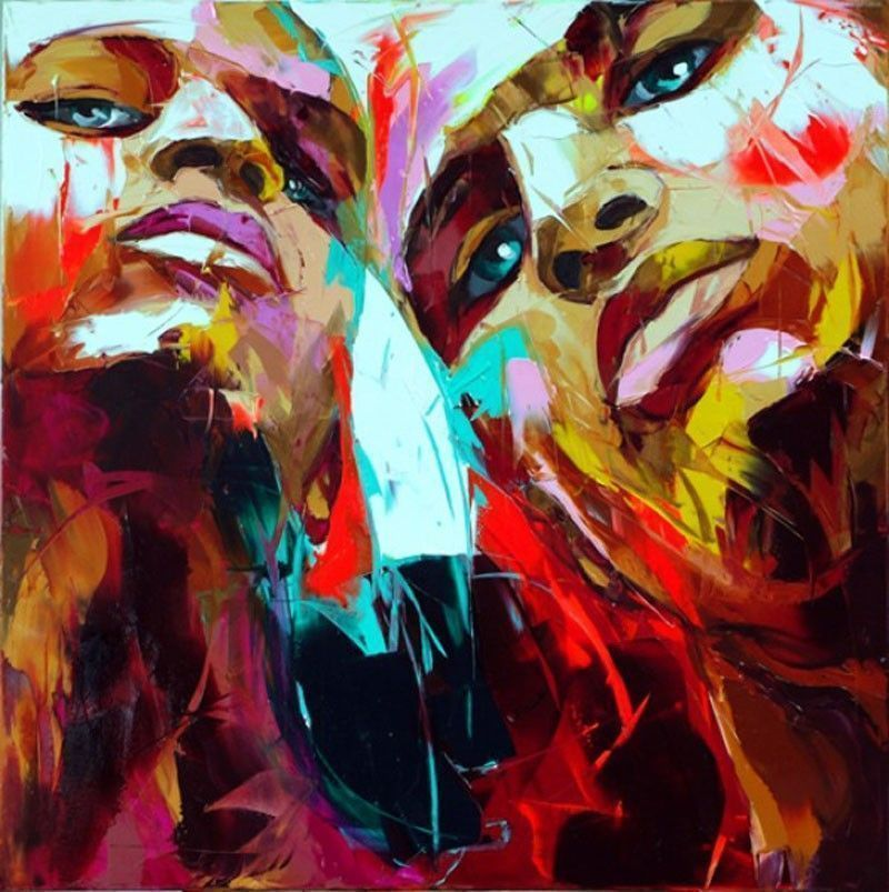 painting-by-francoise-nielly
