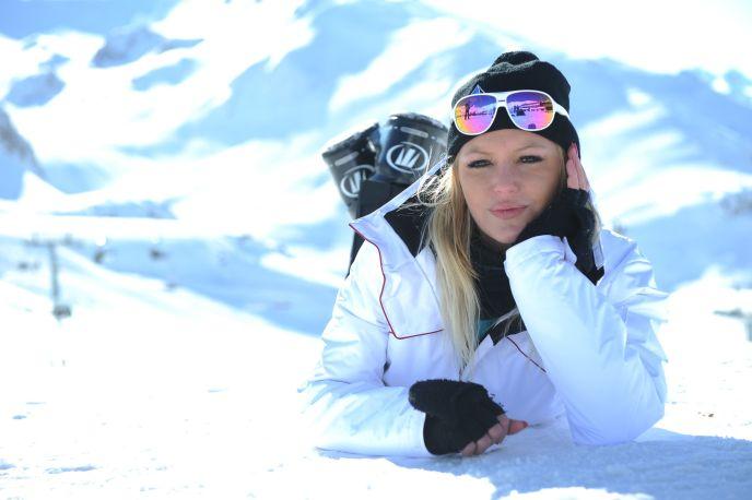 les meufs au ski