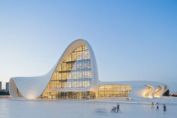 zaha hadid Centre Culturel Heydar Aliyev