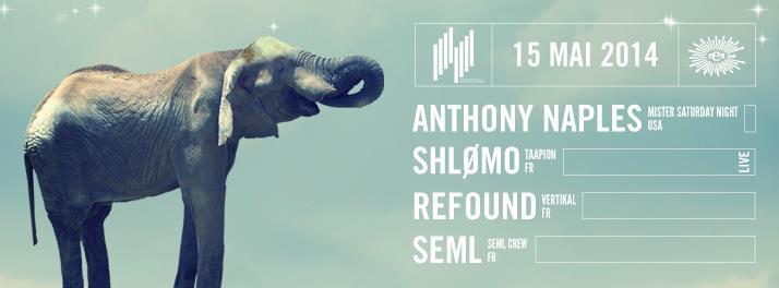 Anthony Naples - Shlomo - Refound - SEML