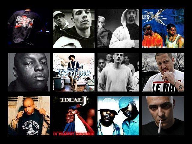 Rap français album & artistes