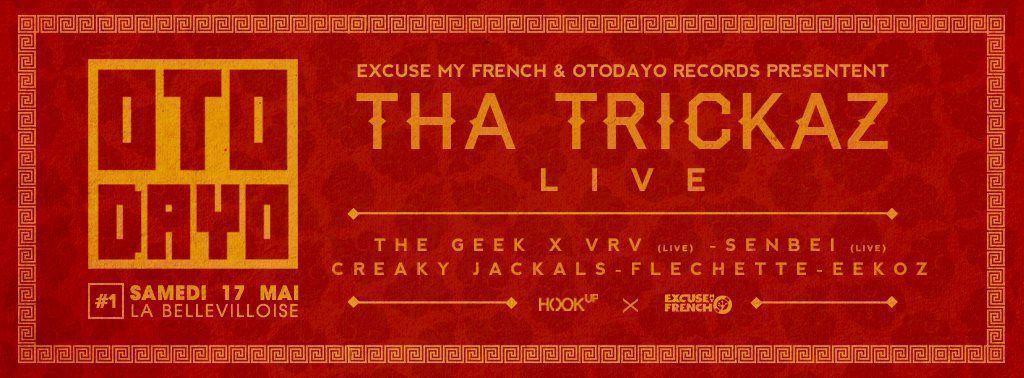 Tha Trickaz en Live - The Geek x Vrv - Creaky Jackals
