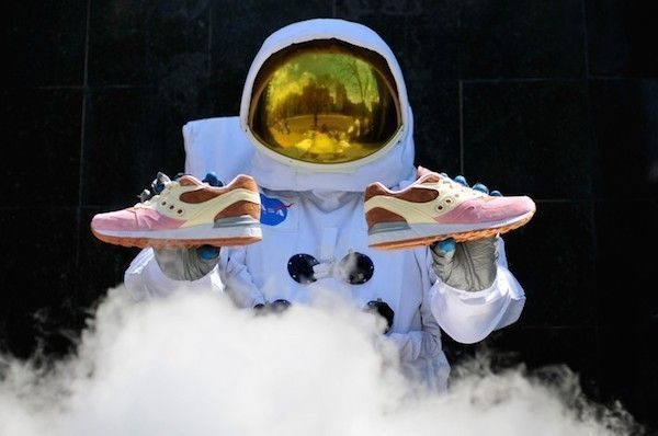atronaute et sneakers