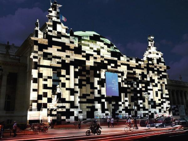 miguel chevalier cube tapis