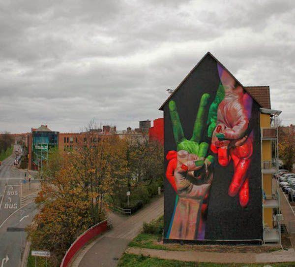 Street Art mains