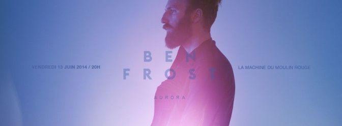 ben frost machine concert