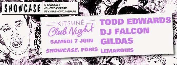 kitsuné night club darius