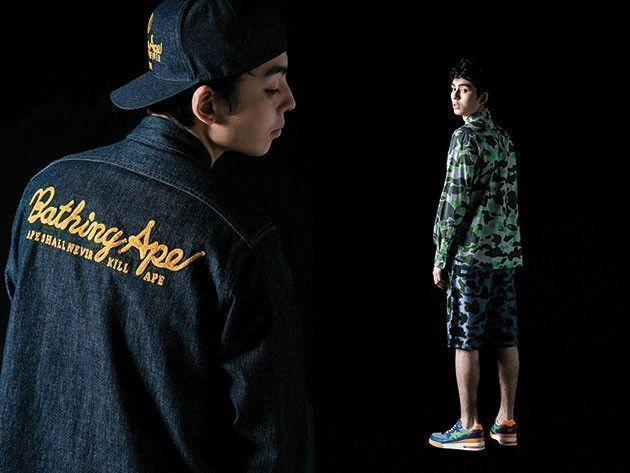 A Bathing ape collection automne hiver 2014