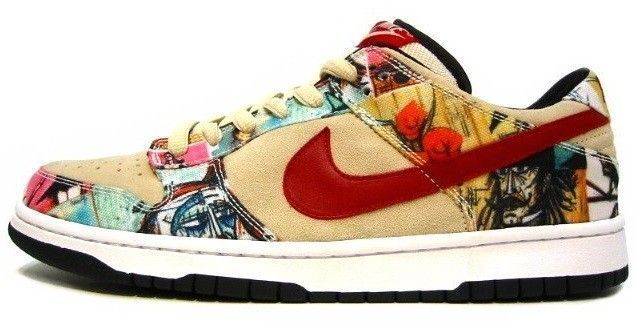 art nike dunk buffet