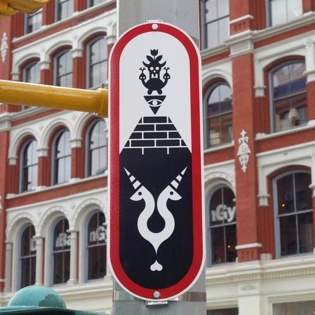 Ryan-McGinness-street-art-signs-4