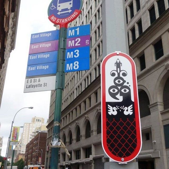 Ryan-McGinness-street-art-signs-7