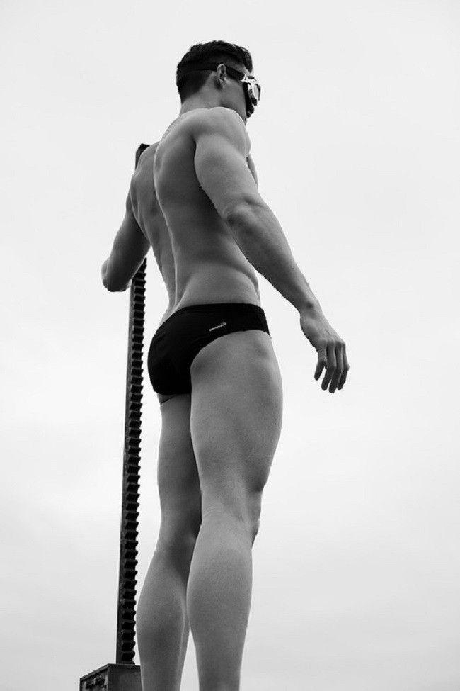 Sylvain-Norget-Stéphane-Debaere-Swimming-Champion