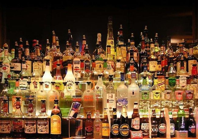 collection-alcohol-bottles
