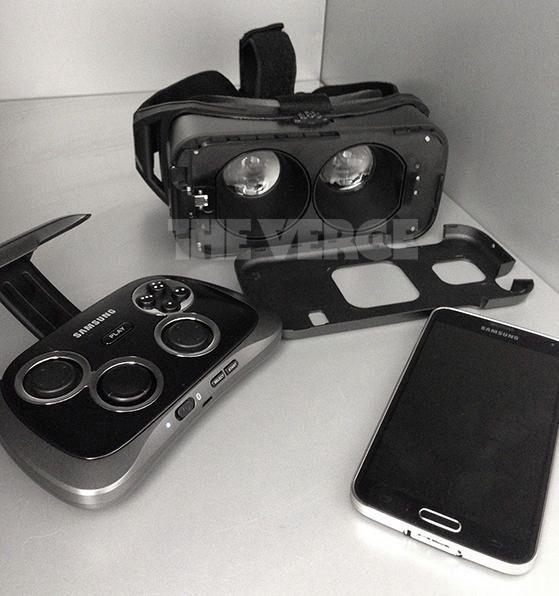the verge casque de réalité virtuelle de Samsung