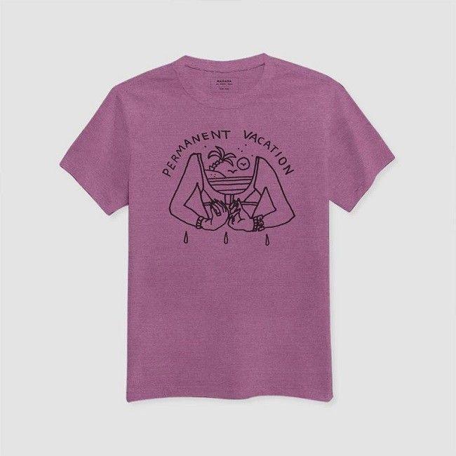 MAMAMA-FW14-T-shirt-Permanent-Vacation