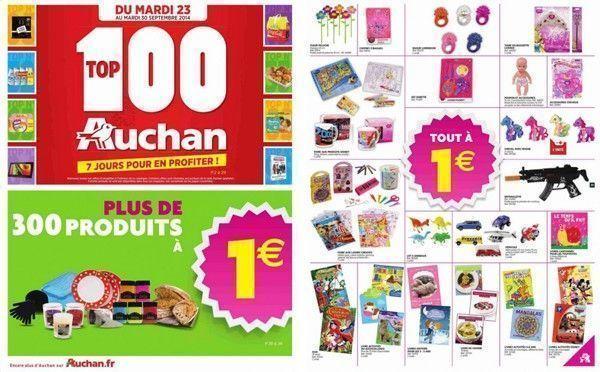 Le prospectus d'Auchan