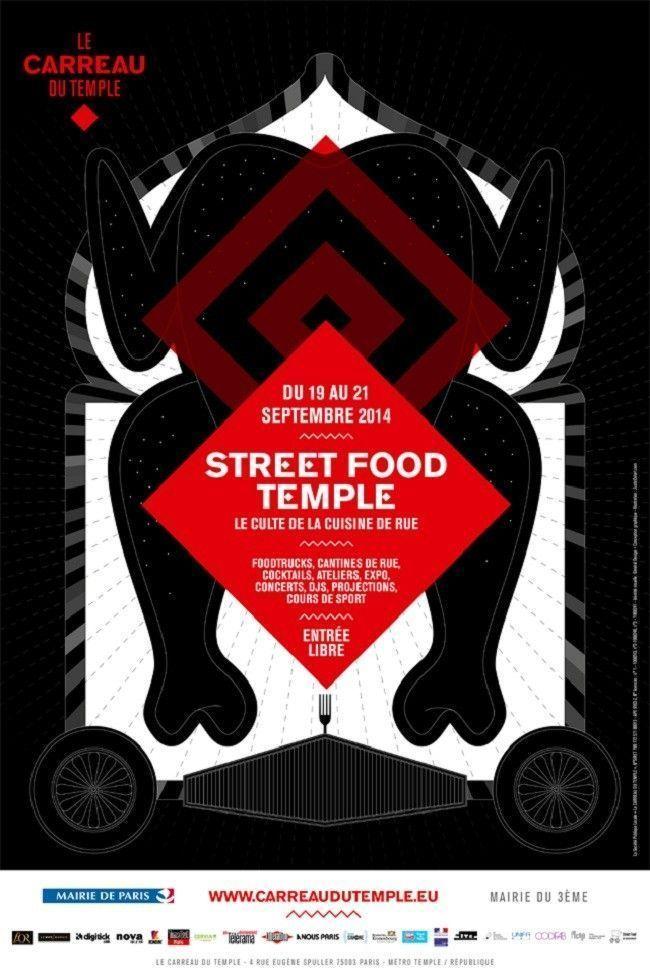 street-food-temple-carreau-du-temple-affiche